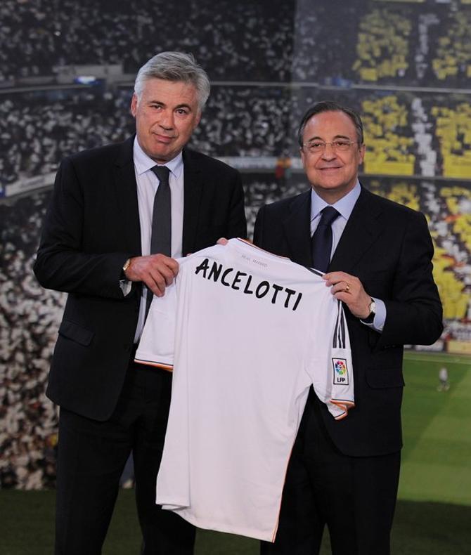 Карло Анчелотти – возможно, главное подписание «Реала» в сезоне