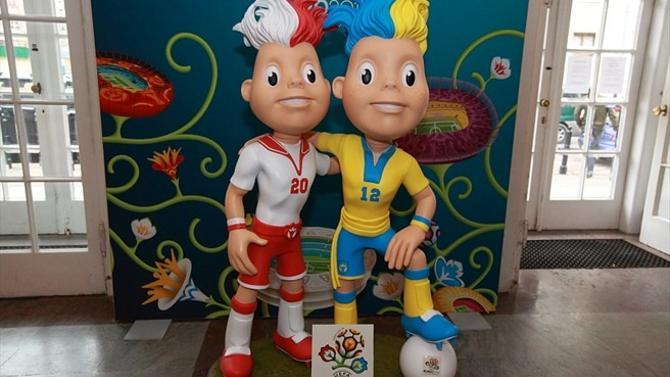 А вот талисманы к Евро-2012 уже готовы на 100 процентов.