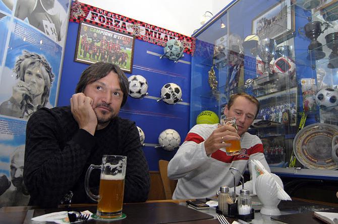 Вадим Евсеев и Олег Антоненко оказались знатоками пива