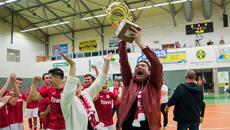 Солигорчанин создал в Чехии мини-футбольный клуб и уже близок к первому чемпионству