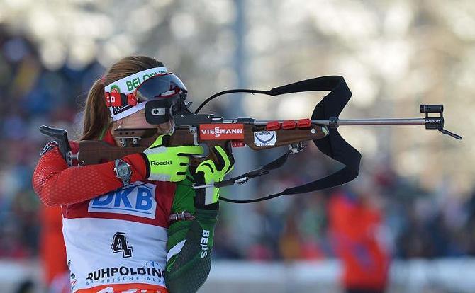 Дарья Домрачева второй раз подряд завоевала