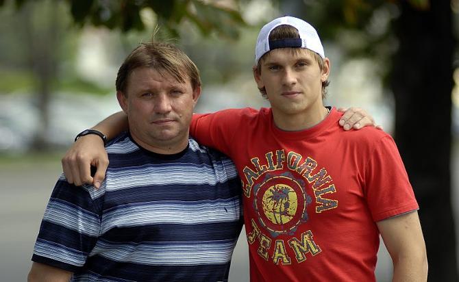 Юрий Гаврус дает сыну принимать решения самостоятельно.