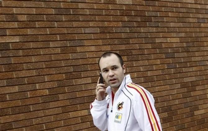 Иньеста - одна из надежд сборной Испании. Разумеется, после Давида Вильи.