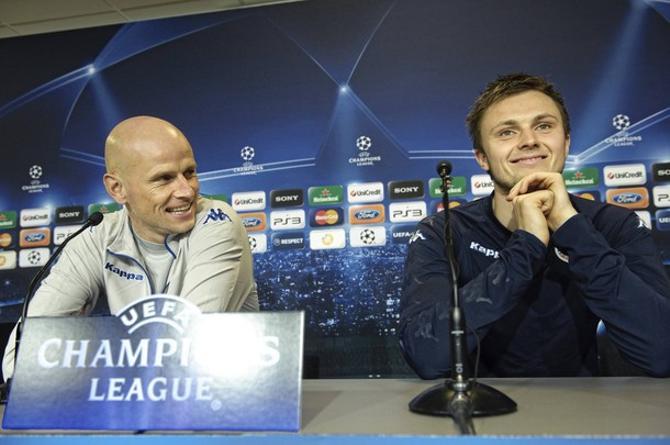 Столе Сольбаккен вывел свою команду в весеннюю стадию Лиги чемпионов.
