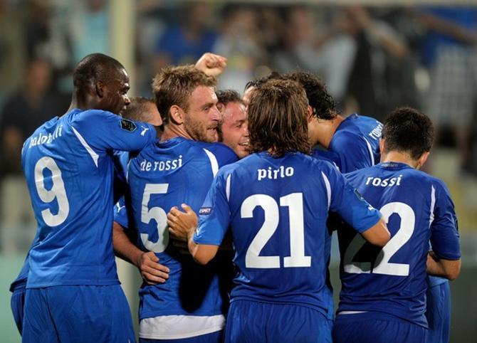 Итальняцы уже могут моделировать игру на Евро