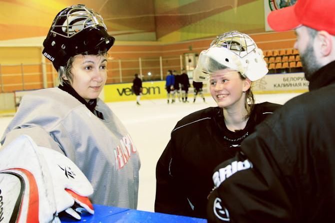 У белорусского хоккея вполне может быть и женское лицо