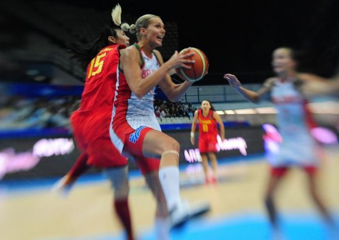 В составе белорусской сборной Елена Левченко пока лучшая.