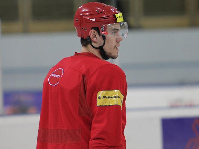 Павел Черноок чувствует доверие тренерского штаба сборной.