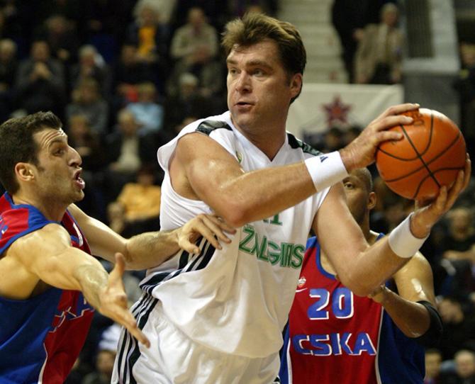 Арвидас Сабонис успел произвести впечатление в НБА.