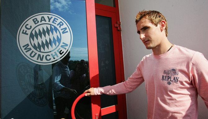 В «Баварии» талантливый Мирослав Клозе впервые столкнулся с понятием «конкуренция»