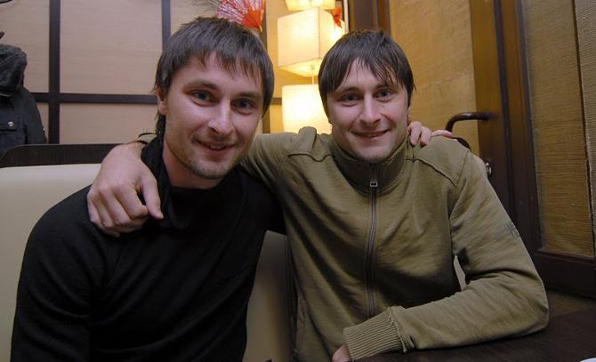 Дмитрий (слева) и Павел -- попробуйте найти десять отличий