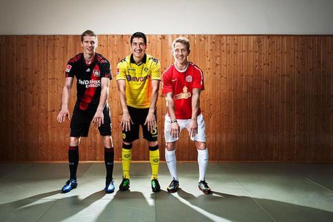 Ларс Бендер, Нури Шахин и Льюис Холтби уже сейчас являются звездами бундеслиги.