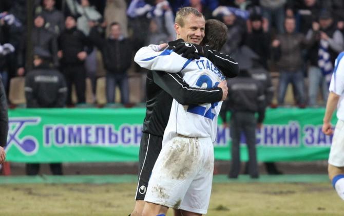 Николай Кашевский и Игорь Стасевич: давненько не виделись в Гомеле