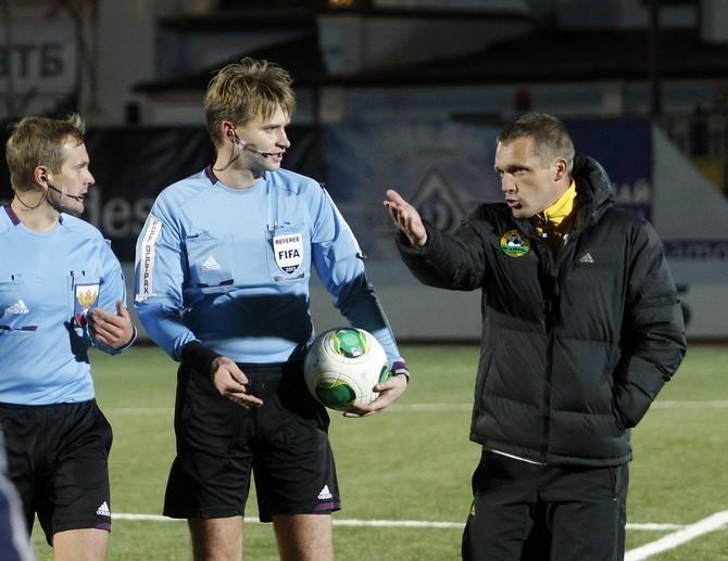 «Кубань» Виктора Гончаренко уже дважды заканчивала матчи вдевятером