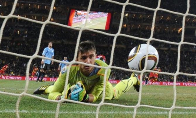 Фернандо Муслера - один из тех, благодаря кому Уругвая добрался до полуфинала.