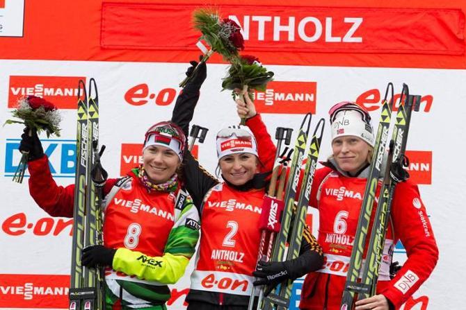 В Антхольце Надежда Скардино обновила личный рекорд в индивидуальных гонках.