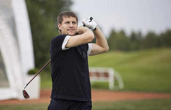 Вячеслав Глеб вспомнил, что Андрей Шевченко сменил футбол на гольф и неплохо там зарабатывает