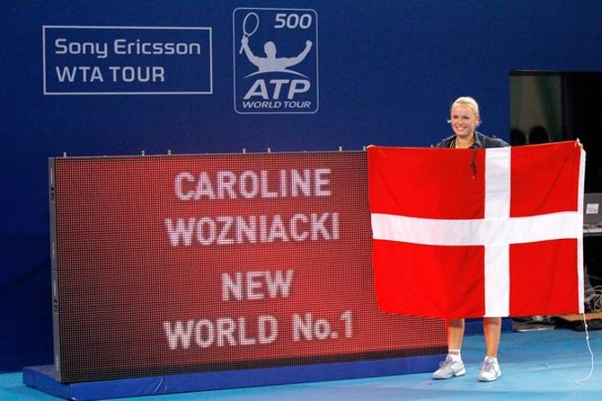 Каролин Возняцки первой из своего поколения сумела стать номером один в мире.