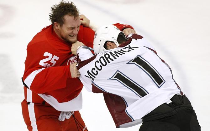 Даррен Маккарти был тафгаем в НХЛ. А тафгаи НХЛ не сдаются.