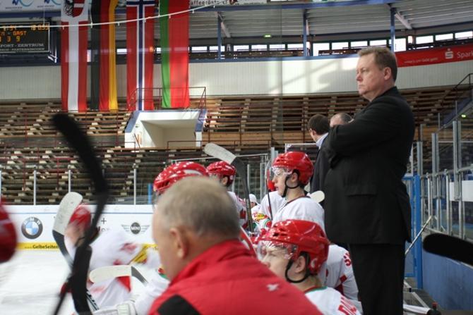 Владимир Заблоцкий не считает, что место белорусов в первом дивизионе.