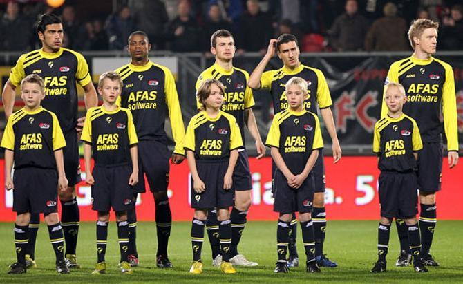АЗ набрал ход в чемпионате Голландии