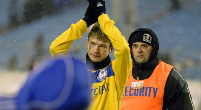 Павел Нехайчик забывает о погоде, когда начинается игра