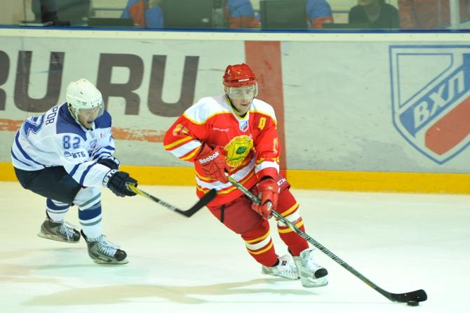 Нападающий Кирилл Брикун с ходу стал одним из лидеров «Липецка».