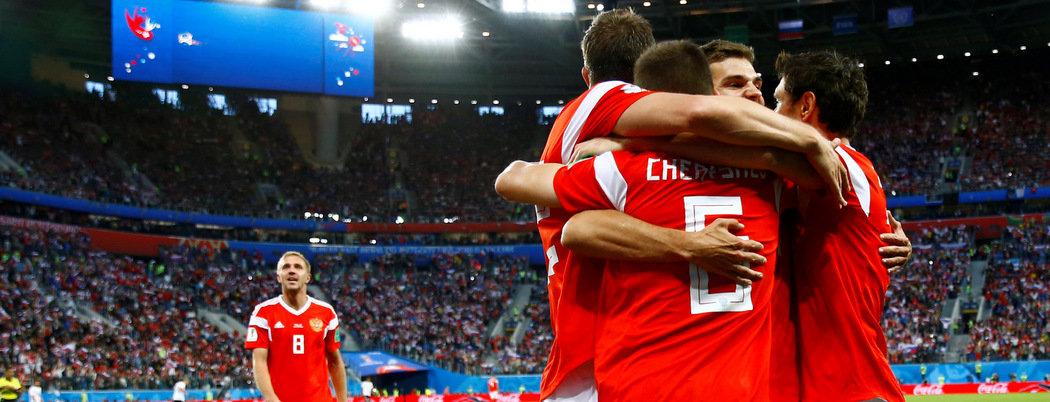 Россия почти вышла в плей-офф домашнего ЧМ