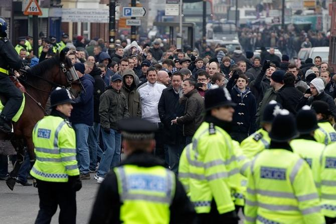 Ни одно из событий последнего времени не собирало в Лондоне столько полицейских в одном месте.