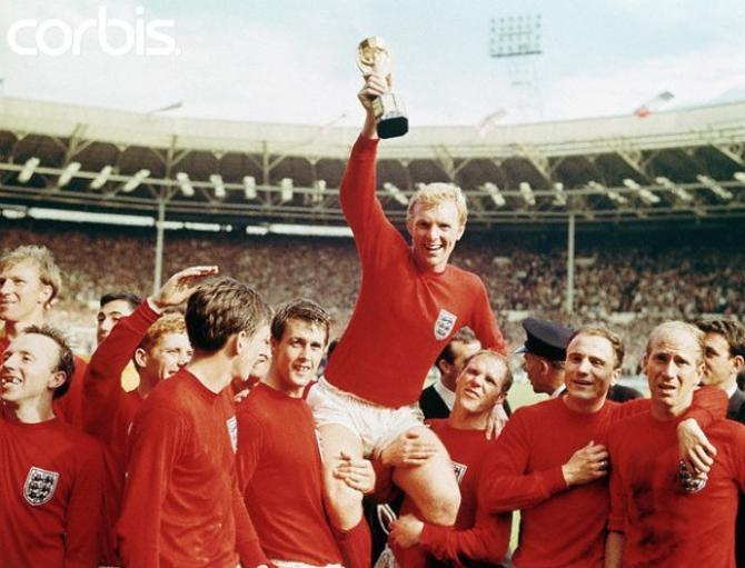 В 1966 году родоначальники футбола первый и единственный пока раз выиграли чемпионат мира.
