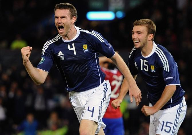 Шотландцы забили победный гол Лихтенштейну на 97-й минуте, хотя добавил судья лишь пять минут.