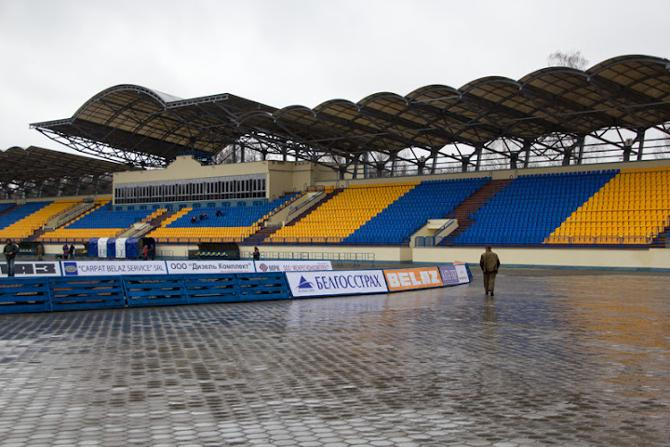 Вместительность торпедовского стадиона теперь выше, чем у БАТЭ