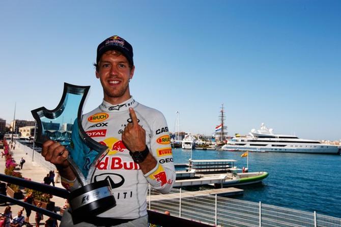 Себастьян Феттель выиграл Гран-при Европы второй раз подряд.