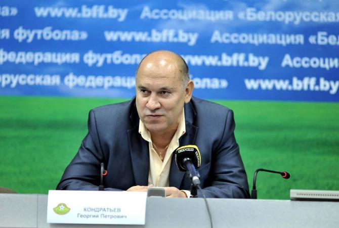 Георгию Кондратьеву не всегда удается сдерживаться в общении с журналистами