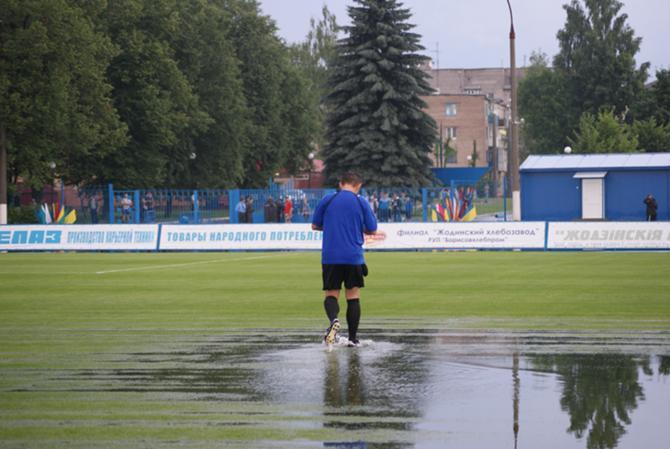 В Жодино можно и в футбол играть, и в водное поло