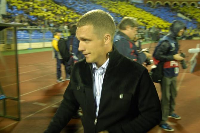 Виктор Гончаренко не позволил себе критиковать подопечных, несмотря на крупное поражение.