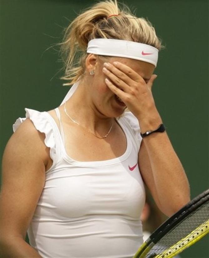 10 геймов подряд Виктория Азаренко не проигрывала давно. Если вообще проигрывала.