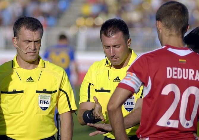Вадиму Жуку понравилось, как отработали в матче с БАТЭ турецкие арбитры во главе с Хусейном Гечеком