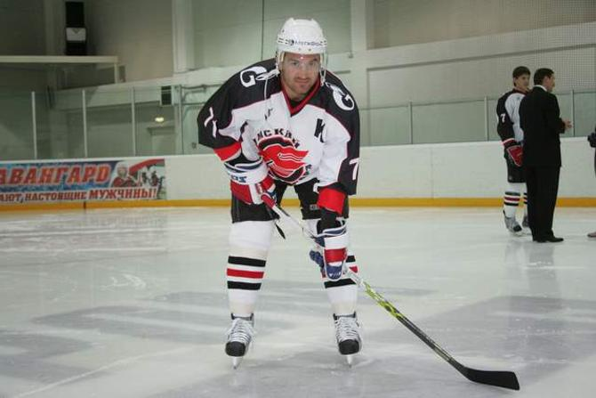Алексей Калюжный уже долечивает травму