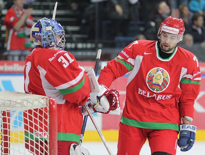 Белорусские хоккеисты стараются не впадать в уныние после неудачного финального матча