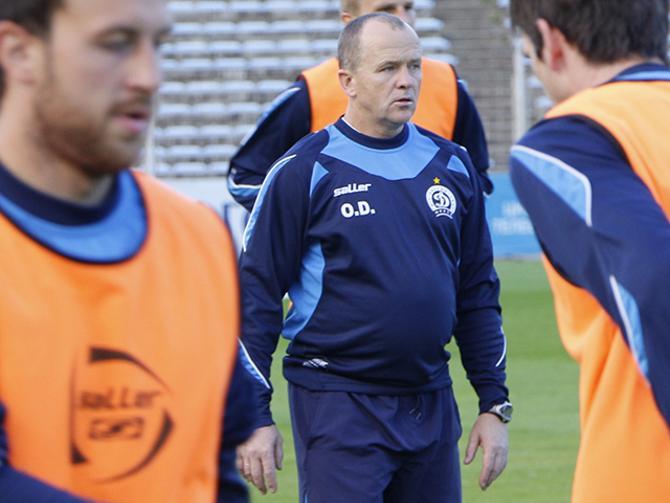 Некоторые болельщики считают, что Олег Дулуб является наиболее подходящей кандидатурой на пост главного тренера столичного «Динамо»