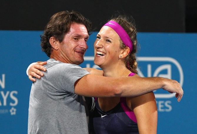 На сегодня это самая успешная пара в женском теннисе.