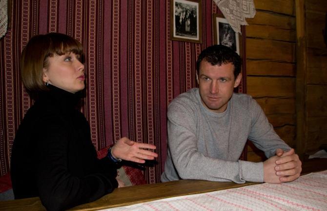 Сергей и Оксана Гуренко знакомы больше 20 лет