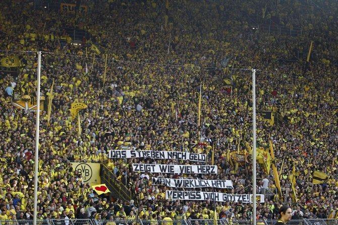 Дортмундской «Боруссии» практически в каждом матче гарантирована сумасшедшая поддержка