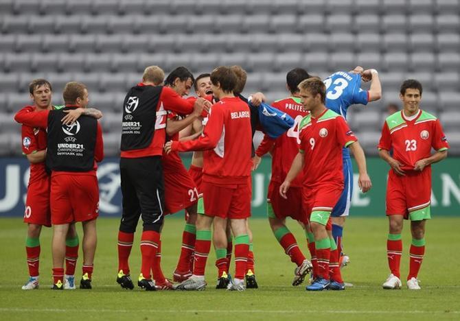 Перетерпев исландское давление, белорусы все же сумели победить