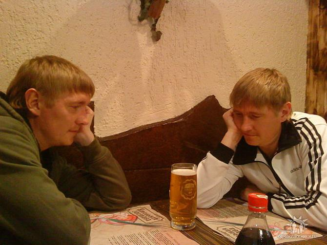 Владимир Маковский (справа) и его брат Михаил воспитывают в себе силу воли