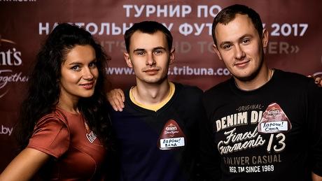 «Это фиаско, братан!» В Минске в кикер играли команды с очень необычными названиями