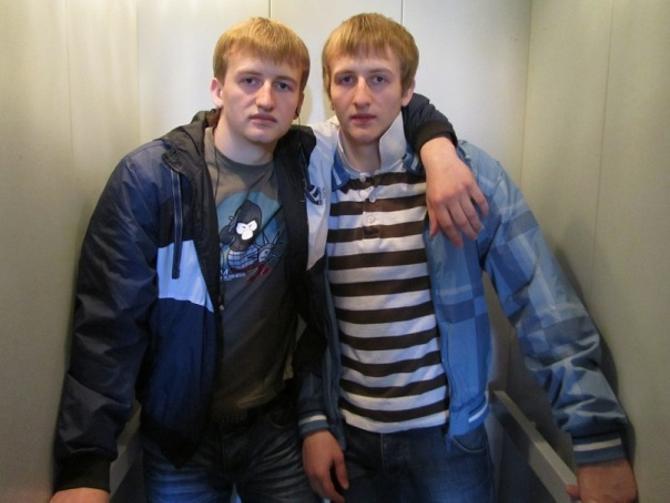 Александр и Сергей Малявко -- на вскидку трудно сказать, кто есть кто