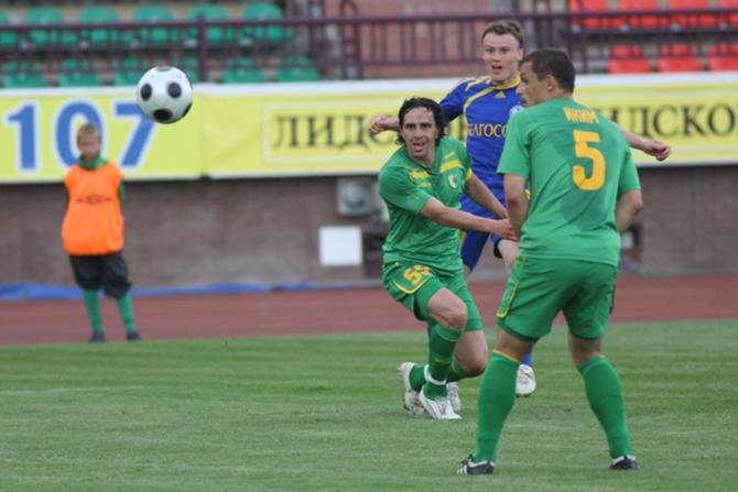 Гродненским защитникам было интересно поиграть против Виталия Родионова