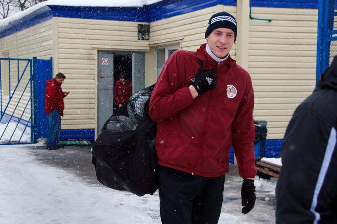 В Узбекистане Юрий Рыжко забыл о минских холодах.